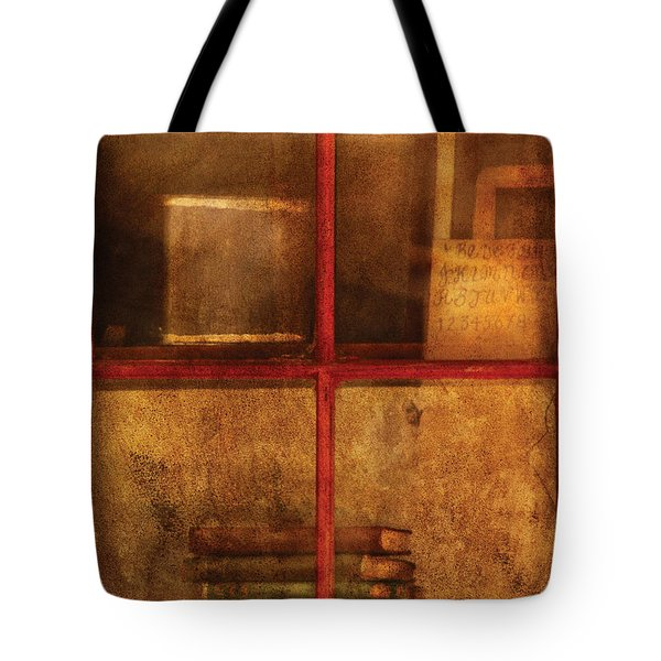 Teacher - School Books Tote Bag by Mike Savad