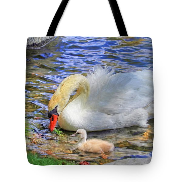Teachings Tote Bag by Donna Kennedy