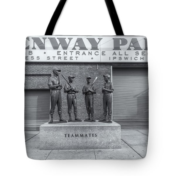 Teammates II Tote Bag by Clarence Holmes