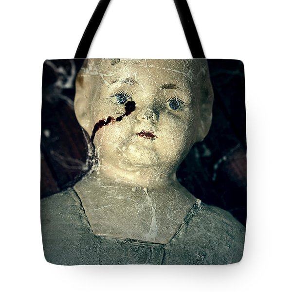 tears of blood Tote Bag by Joana Kruse