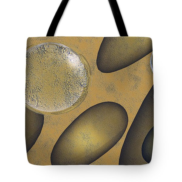 Tears Of Gold Tote Bag by Richard Rizzo