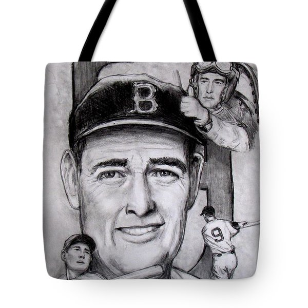 Ted Tote Bag by Jack Skinner