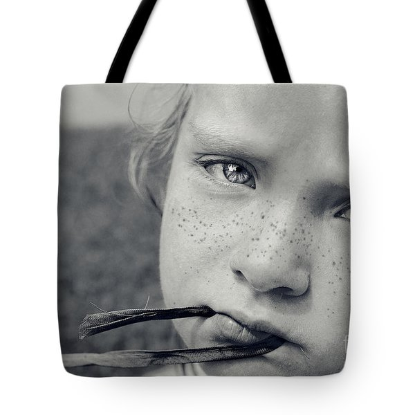 Tell Me What's Wrong Tote Bag by Aimelle