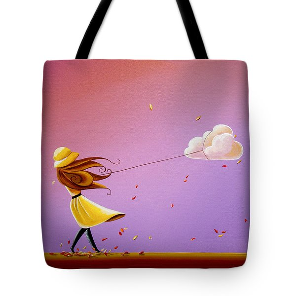 Tempestuous Tote Bag by Cindy Thornton