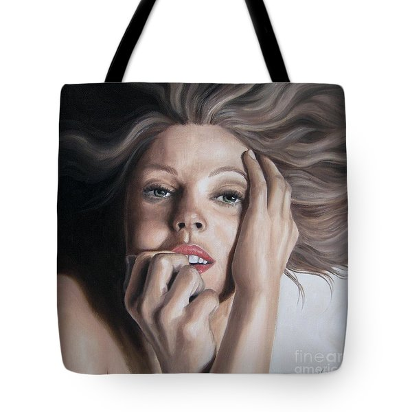 Tempting Tote Bag by Jindra Noewi