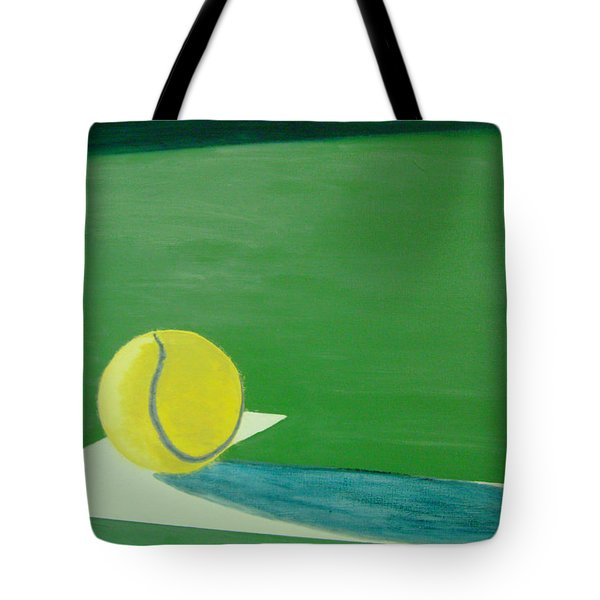 Tennis Reflections Tote Bag by Ken Pursley