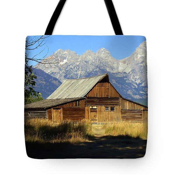 Teton Barn 4 Tote Bag by Marty Koch