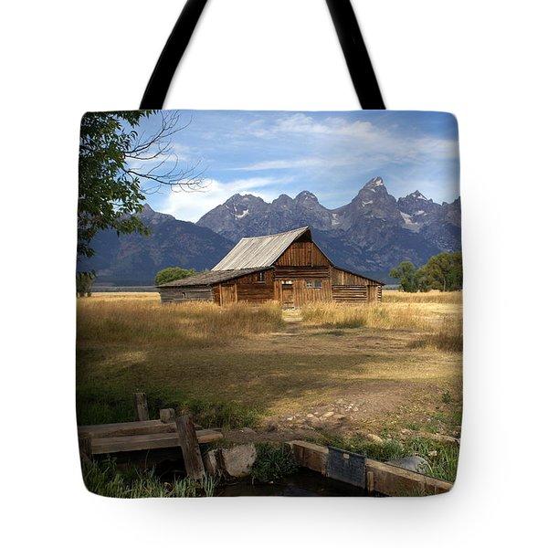Teton Barn Tote Bag by Marty Koch