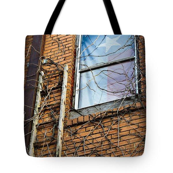 Texas Drapes Tote Bag by Charles Dobbs