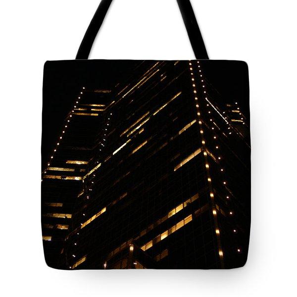 Texas Night Tote Bag by Linda Shafer