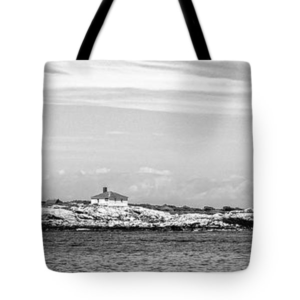 Thacher Island Tote Bag by Charles Dobbs