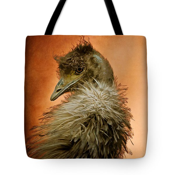 That Shy Come-hither Stare Tote Bag by Lois Bryan