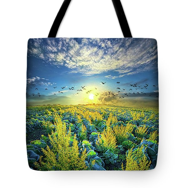 That Voices Never Shared Tote Bag by Phil Koch