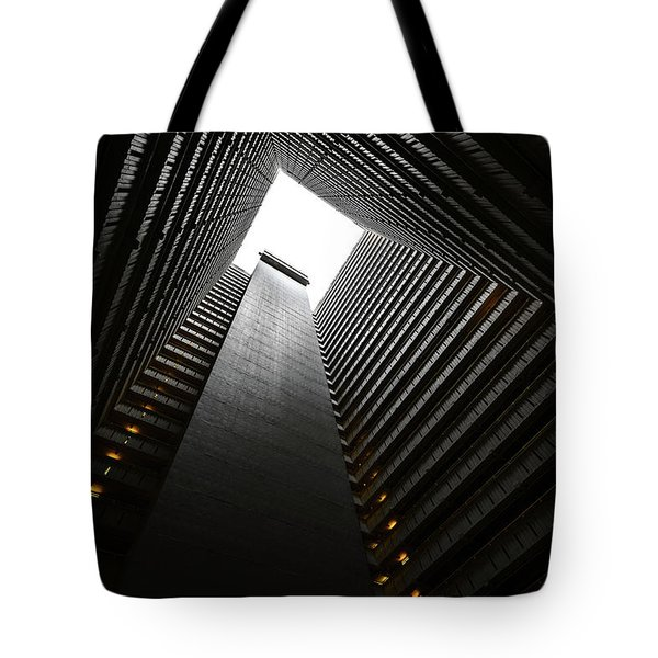 The Abyss, Hong Kong Tote Bag by Reinier Snijders