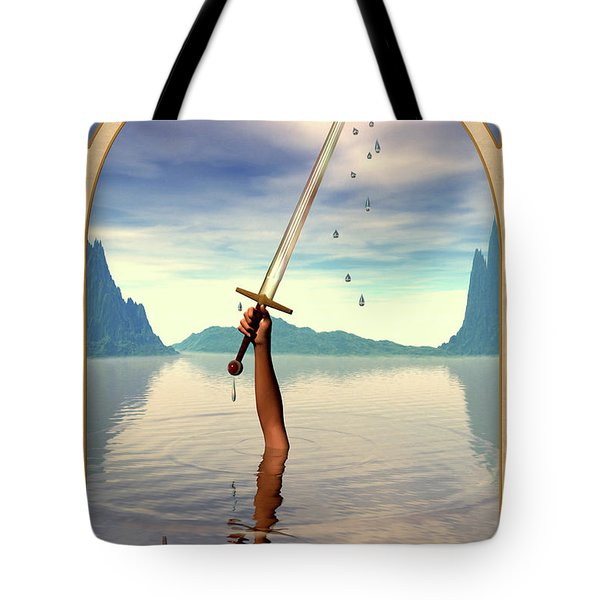 The Ace of Swords Tote Bag by John Edwards