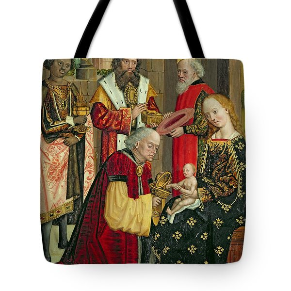 The Adoration Of The Magi Tote Bag by Absolon Stumme