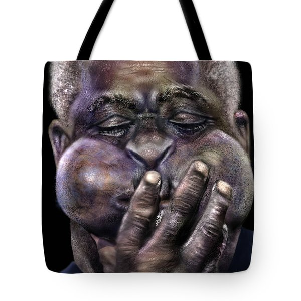 The Amazing Gillespie  Tote Bag by Reggie Duffie