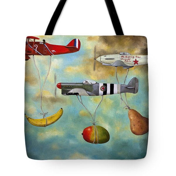 The Amazing Race 6 Tote Bag by Leah Saulnier The Painting Maniac