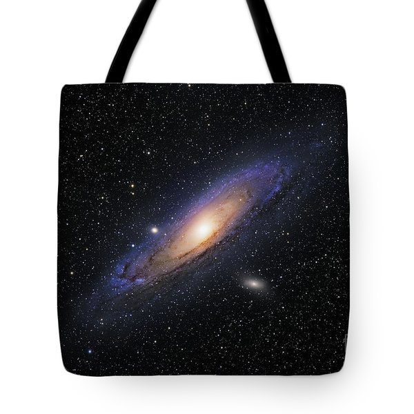 The Andromeda Galaxy Tote Bag by Roth Ritter