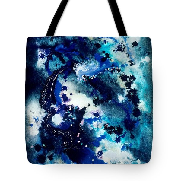 The Angel Horses Tote Bag by Lee Pantas