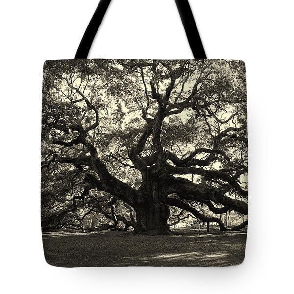 The Angel Oak Tote Bag by Susanne Van Hulst