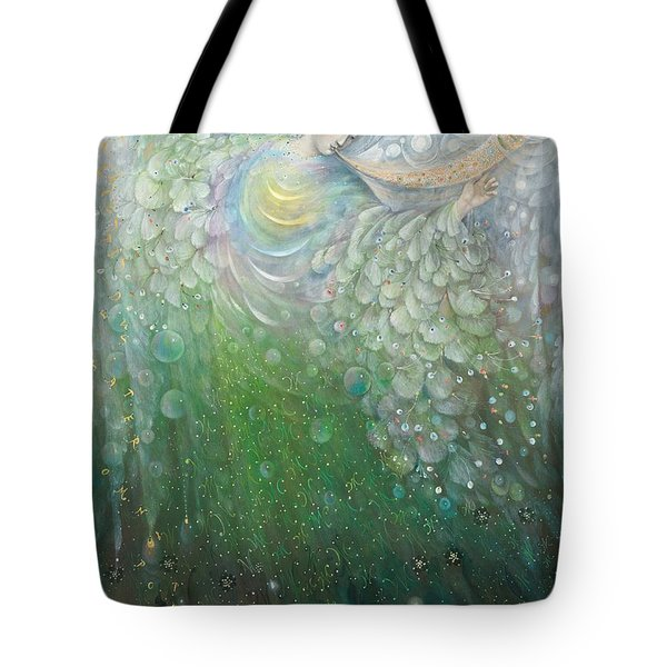 The Angel Of Growth Tote Bag by Annael Anelia Pavlova