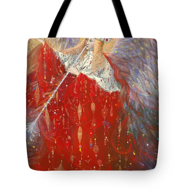 The Angel Of Life Tote Bag by Annael Anelia Pavlova