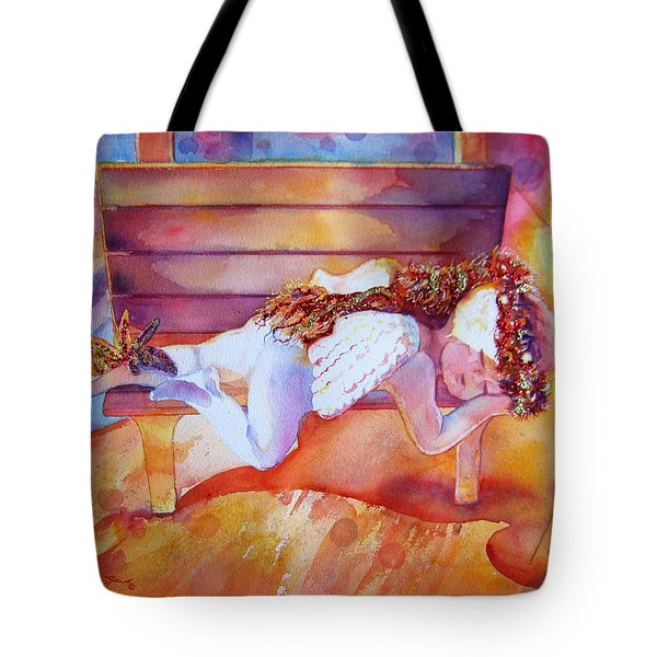 The Angel's Nap Tote Bag by Estela Robles