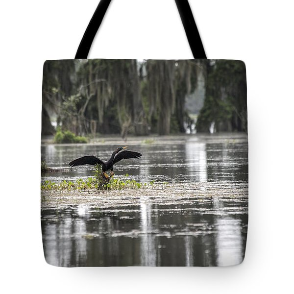 The Announcer  Tote Bag by Betsy Knapp