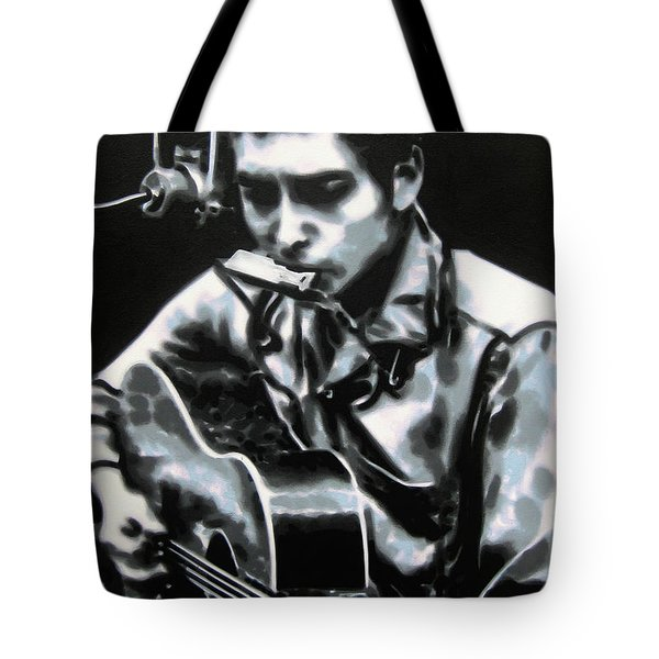 The answer my friend is blowin in the wind Tote Bag by Luis Ludzska