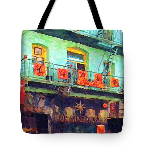 The Association Tote Bag by Wingsdomain Art and Photography