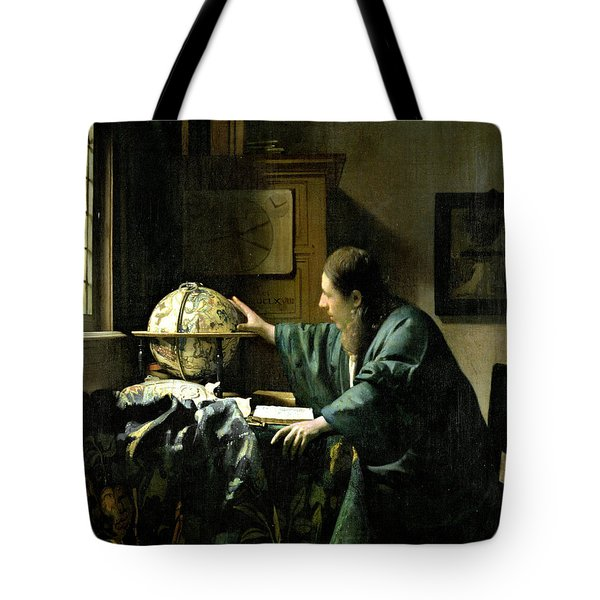 The Astronomer Tote Bag by Jan Vermeer