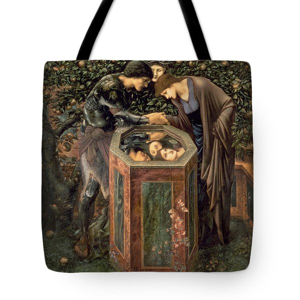 The Baleful Head Tote Bag by Sir Edward Burne-Jones