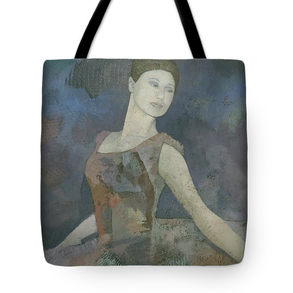 The Ballerina Tote Bag by Steve Mitchell