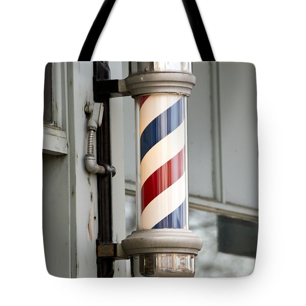 The Barber Shop 4 Tote Bag by Angelina Vick