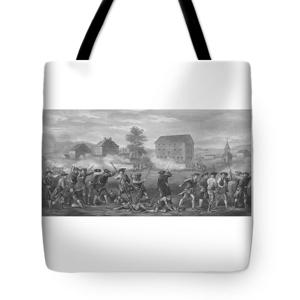 The Battle of Lexington Tote Bag by War Is Hell Store