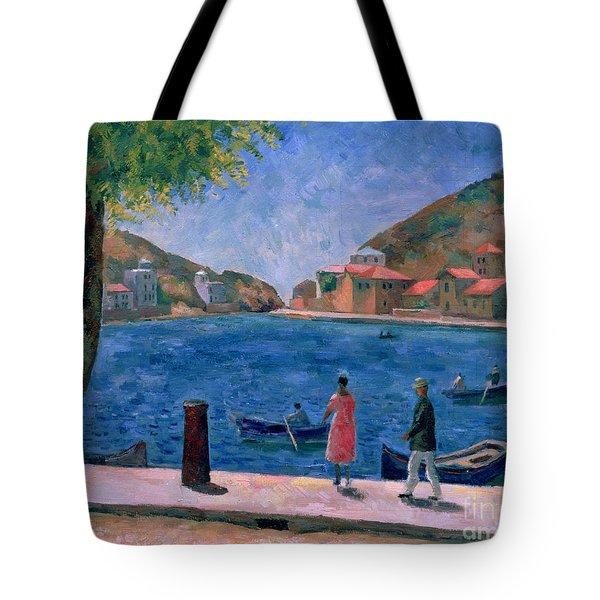The Bay Of Balaklava Tote Bag by Aleksandr Davidovic Drevin