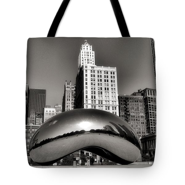 The Bean - 3 Tote Bag by Ely Arsha