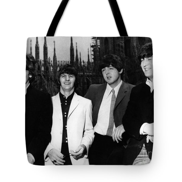 The Beatles, 1960s Tote Bag by Granger