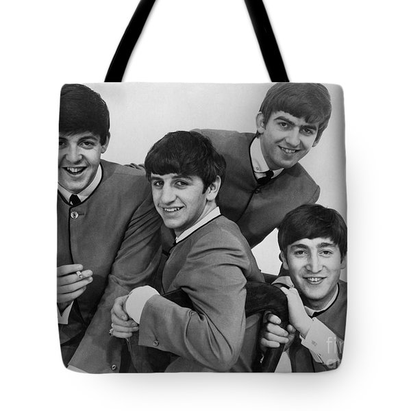 The Beatles, 1963 Tote Bag by Granger