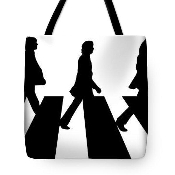 The Beatles No.02 Tote Bag by Caio Caldas