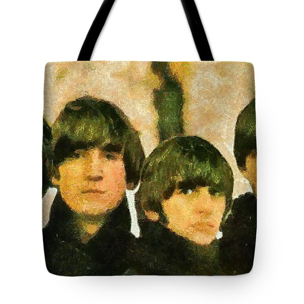 The Beatles Tote Bag by Riccardo Zullian
