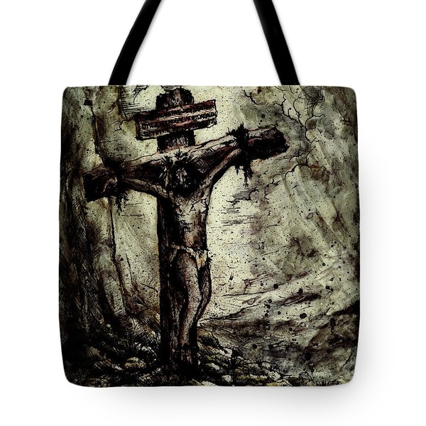 The Beloved Son Tote Bag by Rachel Christine Nowicki