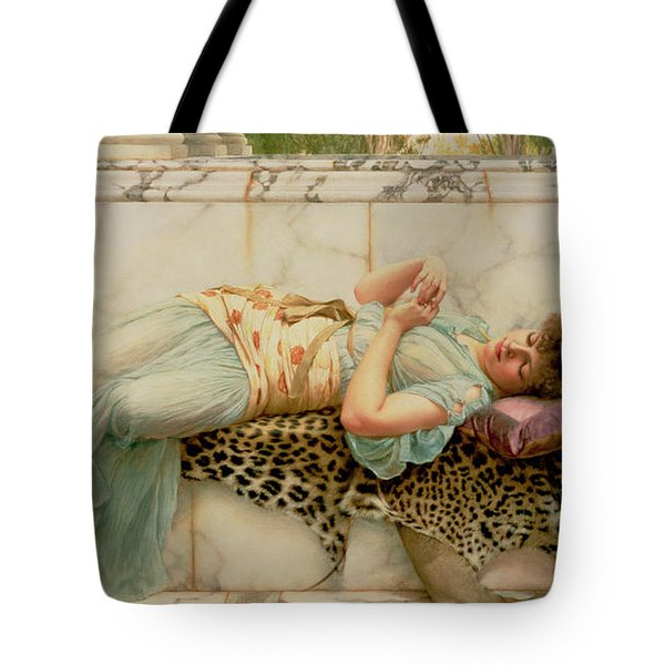 The Betrothed Tote Bag by John William Godward