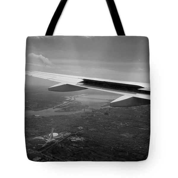 The Big O From On High Tote Bag by Lisa Knechtel