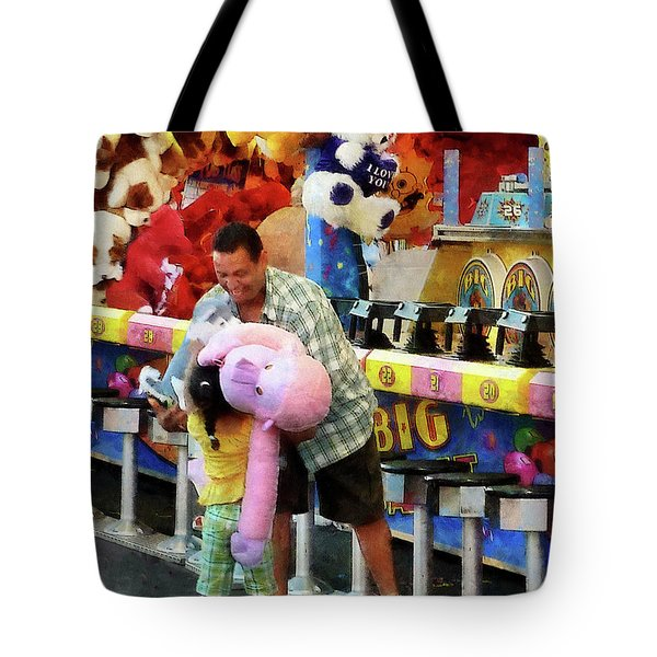 The Big Prize Tote Bag by Susan Savad
