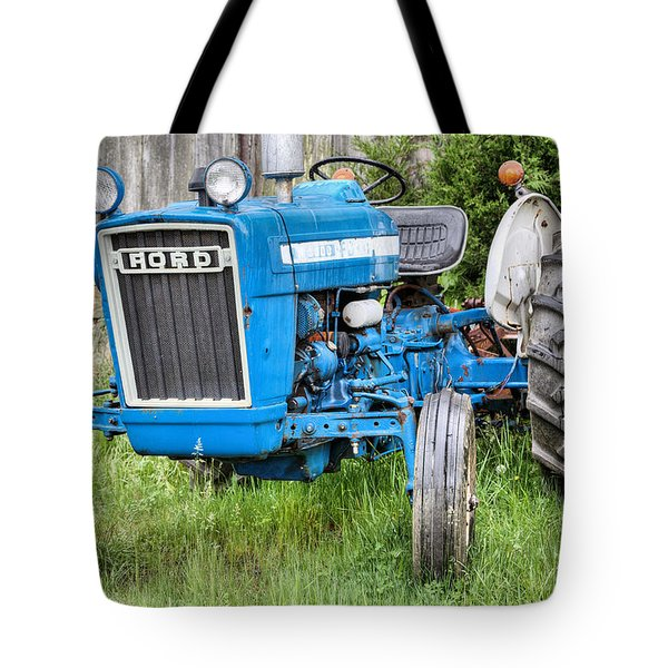 The Blue Ford Tote Bag by JC Findley