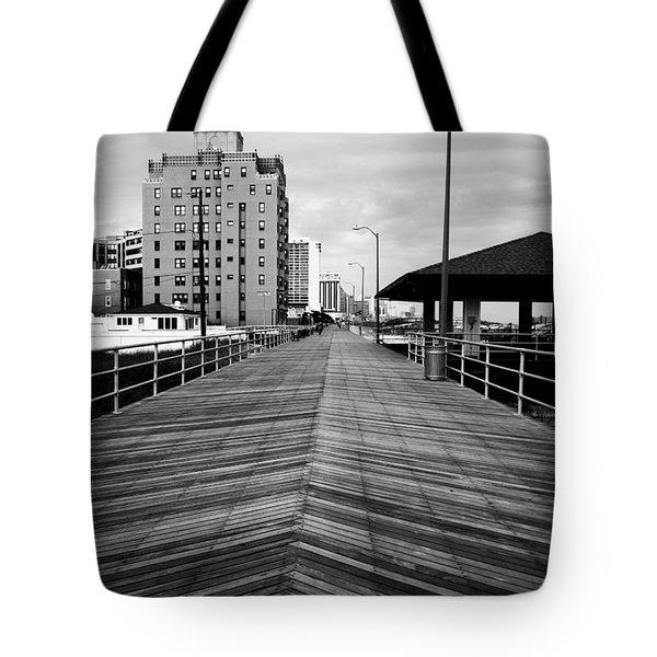 The Boardwalk Tote Bag by Linda Sannuti
