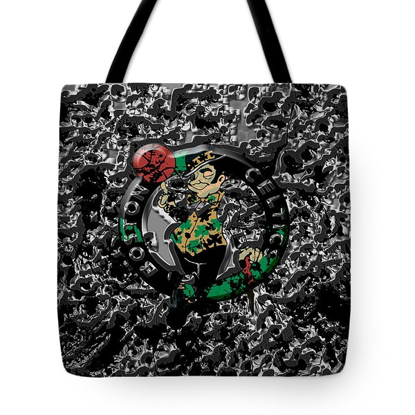 The Boston Celtics 1a Tote Bag by Brian Reaves