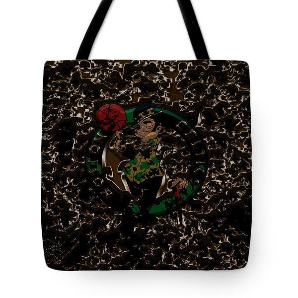 The Boston Celtics 1b Tote Bag by Brian Reaves